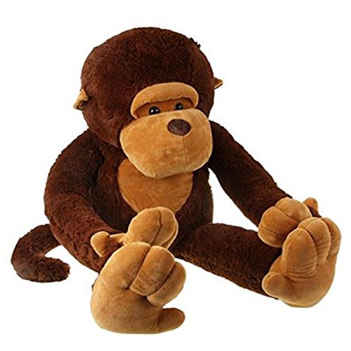 Remeehi The Giant Monkey Stuffed Plush Toy Doll Perfect Bithday Present Kids Gift 90cm