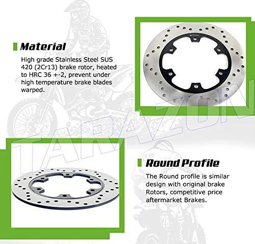 TARAZON Rear Brake Disc Rotor for Honda CB 900 F Hornet 919 2002-2007 Transalp 600 650 700 Scooter FORZA SILVER WING 400 600