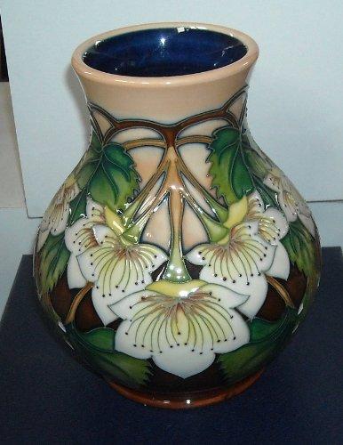 Moorcroft Pottery - NZ Collection - Ribbonwood Vase 869/6