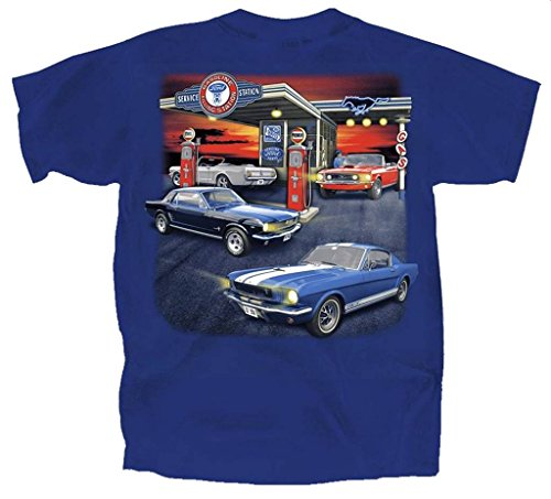 Early Ford Mustang with GT-350 T-Shirt by Joe Blow for sale  Delivered anywhere in USA