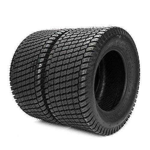 23X10.50-12 Lawn & Garden Tire Lawnmower / Golf Cart Turf Tires 4 Ply 23x10.50x12 Set of 2 by Motorhot