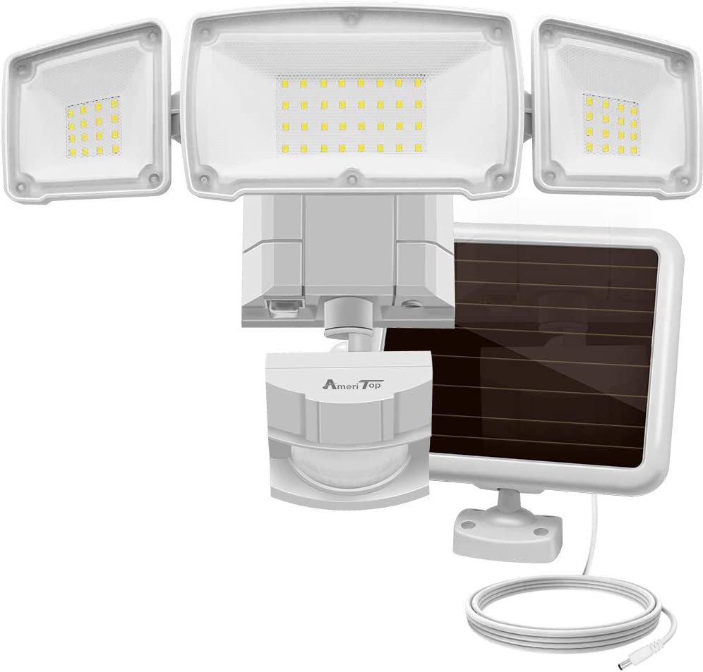 Solar Lights Outdoor AmeriTop Super Bright LED Solar Motion Sensor Lights with Wide Angle Illumination  sc 1 st  Amazon.com & Porch u0026 Patio Lights | Amazon.com | Lighting u0026 Ceiling Fans ...