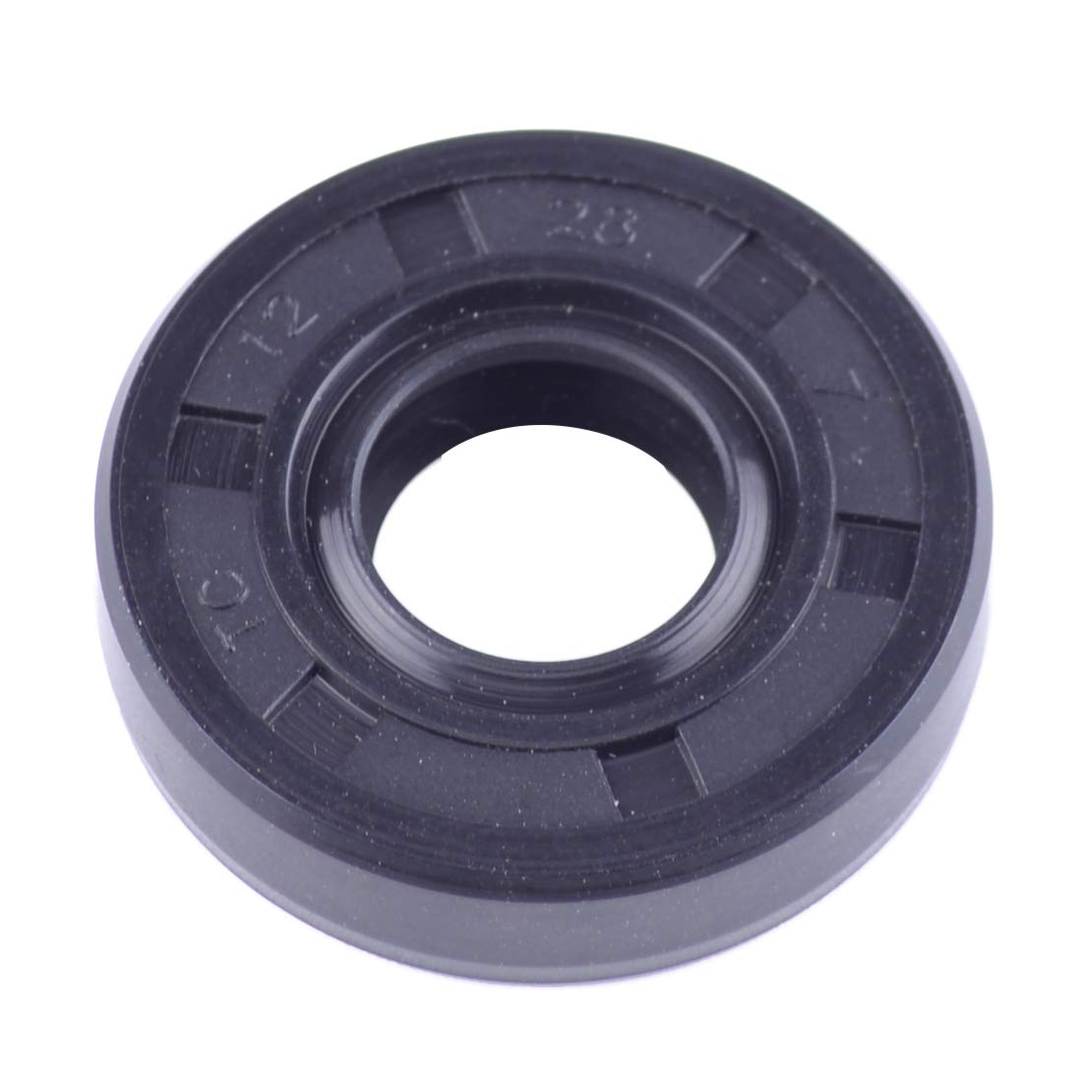 CITALL Arbre rotatif m/étrique flexible 12 x 28 x 7 mm Joint dhuile /à double l/èvre TC Rondelle torique