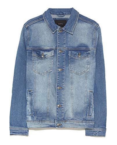 Zara Men Basic Denim Jacket 4454/322 (Medium) for sale  Delivered anywhere in USA
