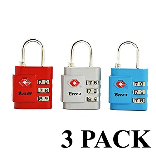 OREI TSA Approved Luggage Locks – Travel