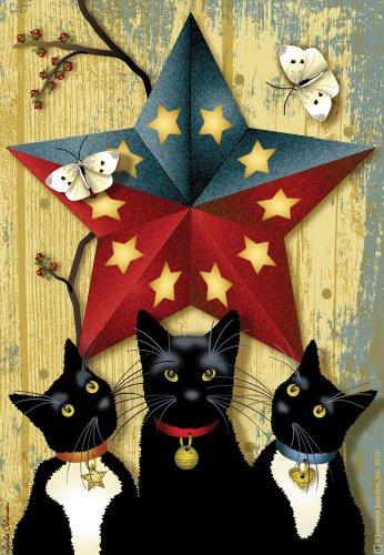 24 Star Flag (Barn Star Cats House Flag)