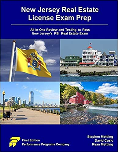 Amazon Com New Jersey Real Estate License Exam Prep All In One Review And Testing To Pass New Jersey S Psi Real Estate Exam 9780915777228 Mettling Stephen Cusic David Mettling Ryan Books