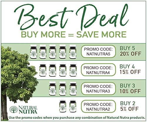 Natural Nutra Active Methyl (Methylated) Folate Supplement with Quatrefolic, L-5-MTHF (Methyltetrahydrofolate), Vitamin B9, MTHFR, 90 Vegan and Vegetarian Tablets