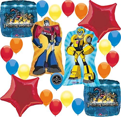 (Transformers Birthday Party Supplies Balloon Decoration Bundle)