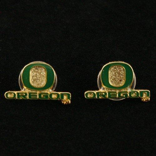 - NCAA Oregon Ducks Team Logo Post Earrings