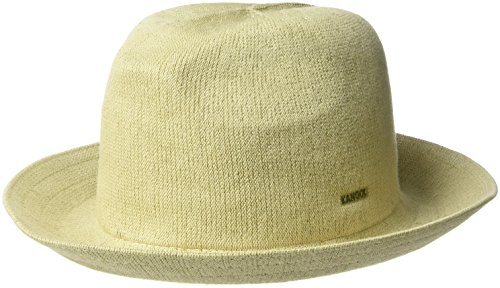 Hats Fedora Kangol (Kangol Men's Bamboo Gent Fedora Hat, Beige, XL)