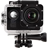 2.0 WIFI 12MP HD 1080P 170° Wide Sports Action Camera, 2.0 inch LCD,70° Super Wide Angle Fisheye Lens Camcorder,Waterproof Rechargeable Battery, Mount Accessories Kit Included