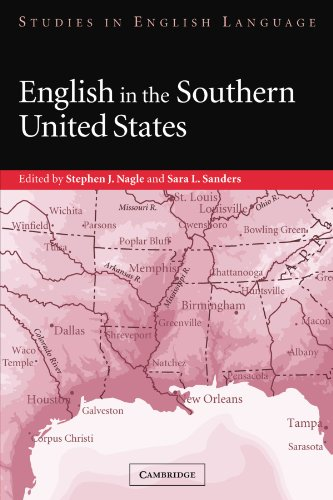 English in the Southern United States (Studies in English Language)