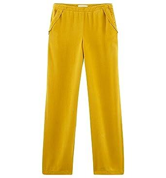 5581227b7cdf7d Promod Pantalon en Lyocell Femme: Amazon.fr: Vêtements et accessoires