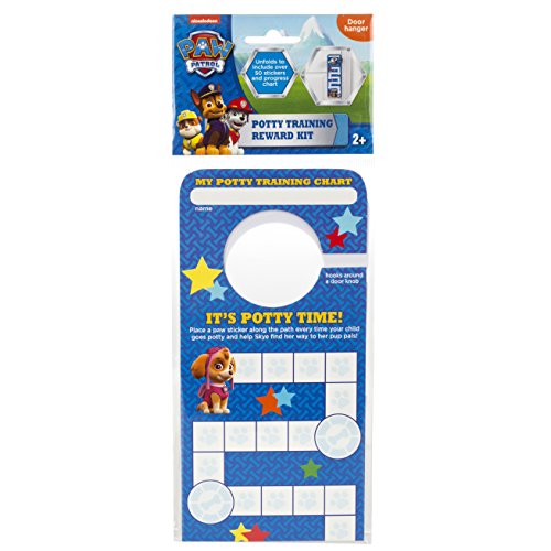 Nickelodeon Paw Patrol Potty Training Reward Kit, Door Hang ()
