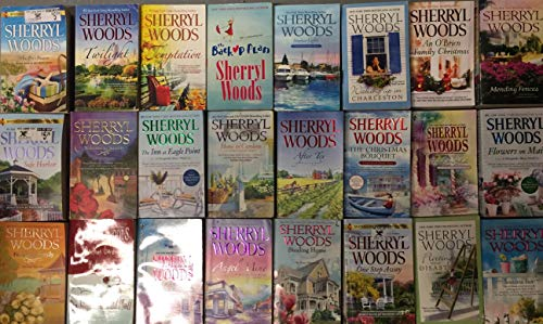 Sherryl Woods Romance Novel Collection 24 Book Set