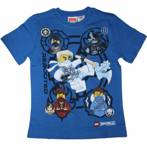 Lego Ninjago Rebooted 5 Ninja Boys T-Shirt - Buy Online in ...