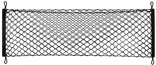 Heavy Duty Cargo Net Stretchable, Universal Adjustable Elastic Truck Net with Hooks, Storage Mesh Organizer Bungee for Car, SUV, Truck (Yukon Clam Cover)