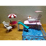 Barbie Size Dollhouse Furniture - Summer Resort Water Fun