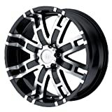 2001 dodge ram 1500 rims - Helo HE835 Gloss Black Machined Wheel - (17x8/5x5.5)
