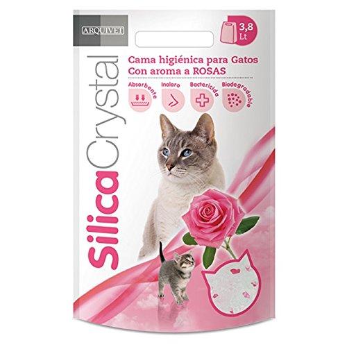 Arquivet 8435117840225 - SilicaCrystal 3.8l con aroma a Rosas