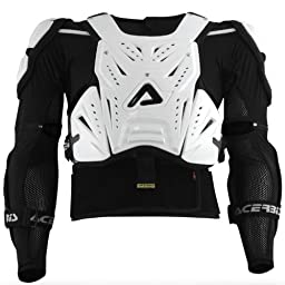 Acerbis Cosmo Roost Deflector , Distinct Name: Black, Primary Color: Black, Size: 2XL, Gender: Mens/Unisex 2187680001010
