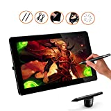 Ugee HK1560 15.6 Inches IPS Graphics Monitor HD Resolution Drawing Display LED Drawing Monitor with 2 Rechargeable Pens