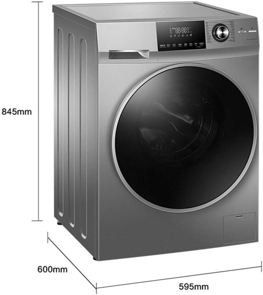 Lavadora de Tambor automática con secador de 10 kg ácaros de frecuencia de Lavado de Vapor de Secado de accionamiento Directo WiFi Integrado Inteligente