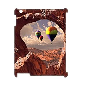YCHZH Phone case Of Colorful Hot Air Balloon Cover Case For IPad 2,3,4