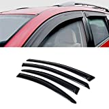 For 1998-2004 Dodge Intrepid All Models SUN/RAIN/WIND GUARD SMOKE VENT SHADE DEFLECTOR WINDOW VISOR 4PCs