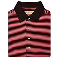 RUNS LARGE - SEE SIZING CHART BELOW What makes Donald Ross Polos so fabulous. Here are some amazing facts about their high standards for quality. When you combine all the ingredients, it's this recipe that makes these polos so admired. Gentle...