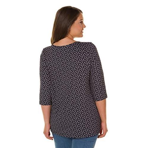 best Ulla Popken Damen große Größen bis 64, Oberteil, Shirt