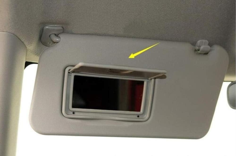 YJDTYM Overhead Console Interni Visiera con Specchio Anteriore assieme di Visiera//Fit for Suzuki Swift 2006 2007-2015 2016 Fit for Splash 2011 Sun Shield Color : Left Side 1pcs