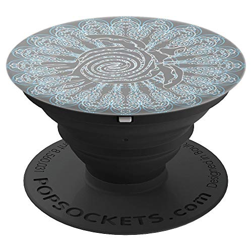- Ocean Marine Life Sea Turtle Sacred Mandala Tribal Designs - PopSockets Grip and Stand for Phones and Tablets