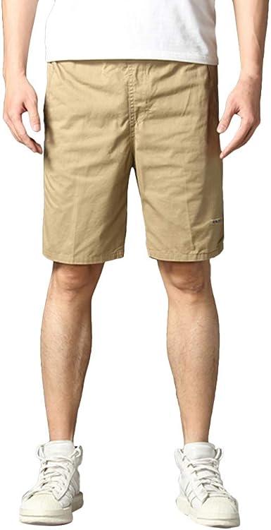 Hombres Verano Moda AlgodóN Lino Corto Pantalones, Bañador Hombre ...