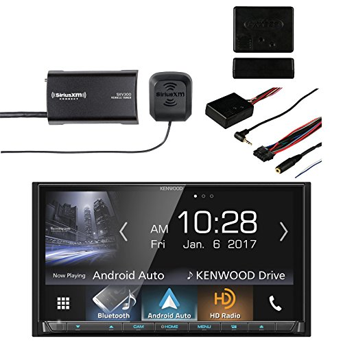 Kenwood DDX9704S 2-DIN in-Dash DVD/CD/AM/FM Car Stereo Receiver with Sirius  SXV300v1 Vehicle Satellite Radio Tuner & Metra Axxess ASWC-1 Universal