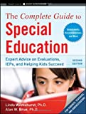 The Complete Guide to Special Education, Linda Wilmshurst and Alan W. Brue, 047061515X