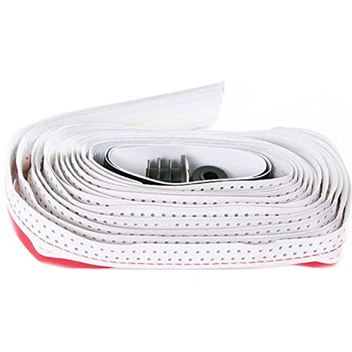- 3T  Bicycle Handlebar Tape, White/Red