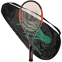 Wilson 2017 Burn 100 Team Adult - Full Carbon Fiber - Strung with Cover - Tennis Racquet (4-3/8)