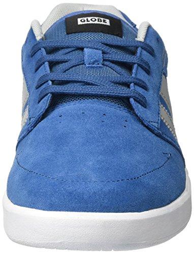 Globe Octave Shoes in Blue White White & Blue yLNDU3Lk