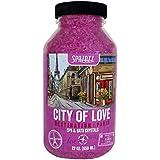 Spazazz SPZ-301 Paris City of Love Destination Crystals Container 22 oz.