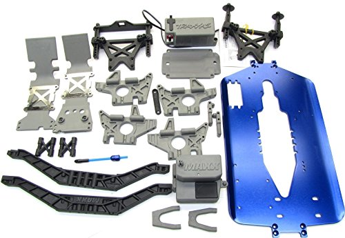T-Maxx3.3CHASSIS5122X5197R(lengthupgradeTowers,4907Traxxas ()