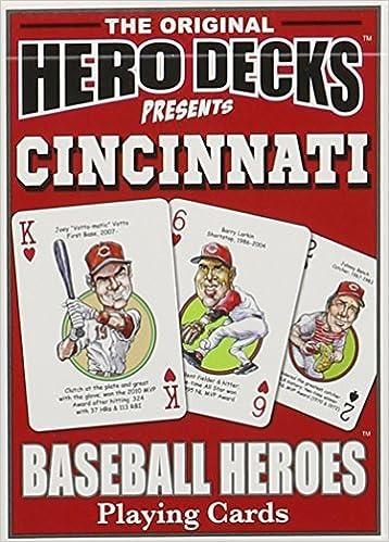 Cincinnati Baseball Heroes Juego de cartas: Hero Decks ...
