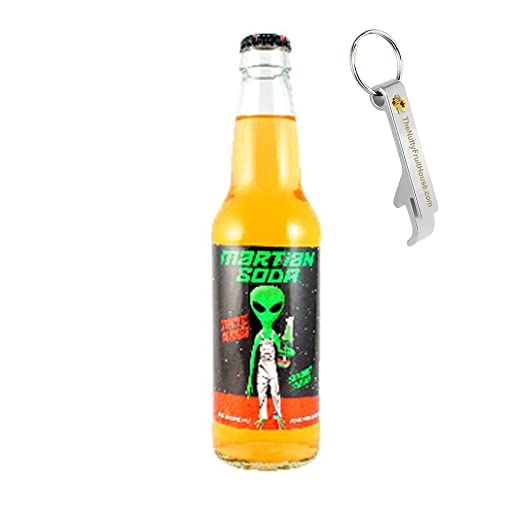 Amazon.com : Martian Poop Marionberry Soda Pop 12-Ounce Bottle 1 Count (With Exclusive Stainless Steel Bottle Opener) : Grocery & Gourmet Food