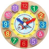 Jack Royal Wooden Digital Clock Bead Toy (Bear)