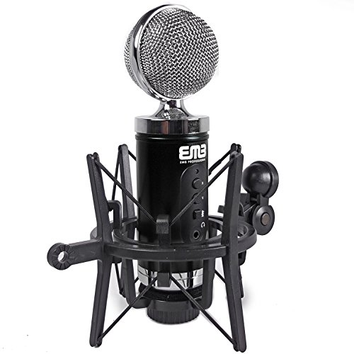 EMB EMC960 Professional High-Performance Multi-Pattern Large Diaphragm Condenser Project Studio Microphone (Mxl 2010 Multi Pattern)