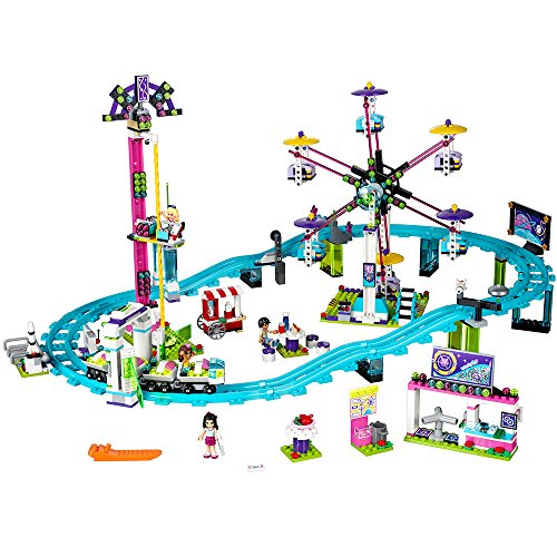 Friends Roller Coaster (LEGO Friends Amusement Park Roller Coaster 41130 Toy for Girls and Boys)