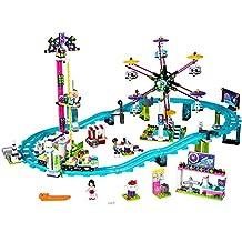 LEGO Friends Amusement Park Roller Coaster Building Kit (1124-Piece)