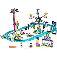 LEGO Friends Amusement Park Roller Coaster 41130 Toy for...