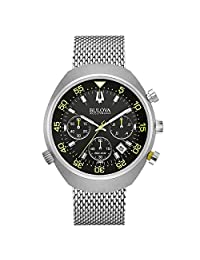 Bulova Men's 96B236 Black Dial Chronograph Watch